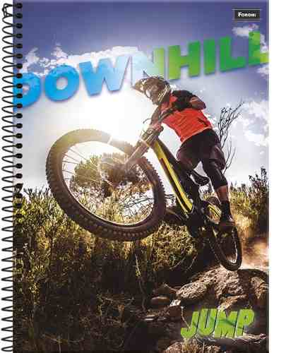 Caderno Esporte Jump 10 Materia 200 Folha Capa Dura - Foroni
