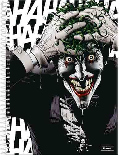 Caderno Universitário Batman Teen Coringa - 1 Matéria Foroni