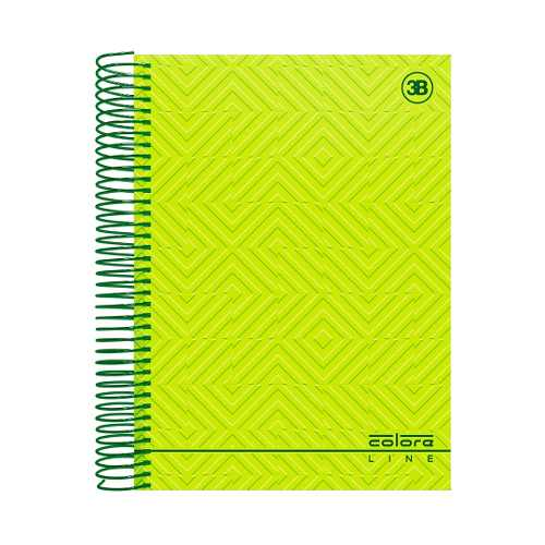 Caderno Universitário 10 Matérias - Capa Dura Em Espiral