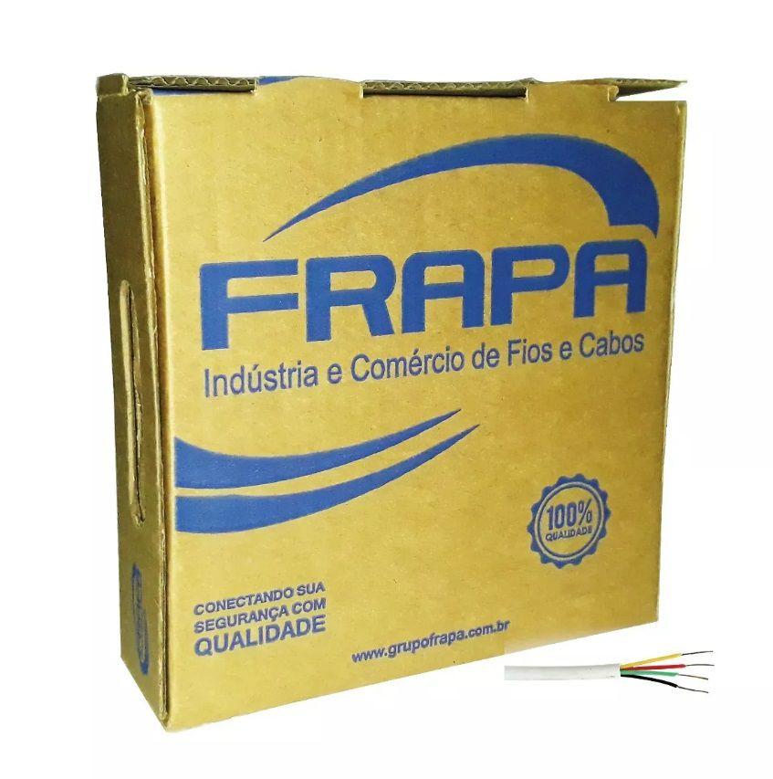 Cabo 4mm Cftv Camera Alimentação Bipolar 100m Original Frapa