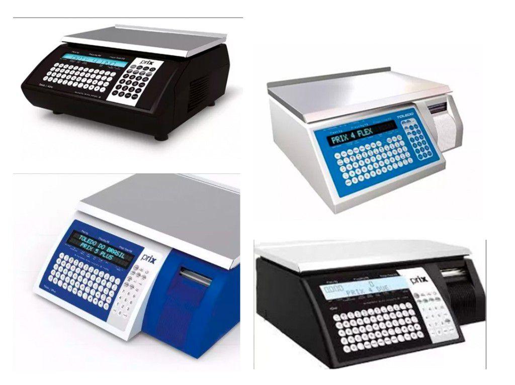 Etiqueta térmica 40x40 para balança Toledo caixa com 20 Unidades