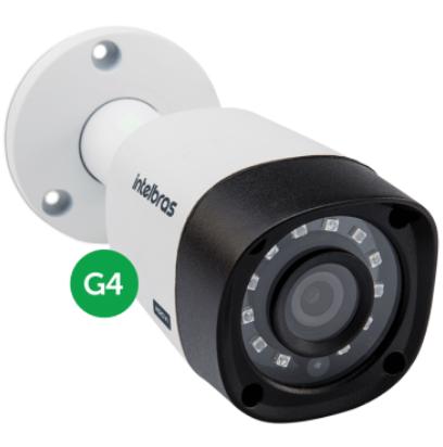 Câmera Intelbras Bullet Vhd 3120B G4 2,6mm 20m 720p Multihd