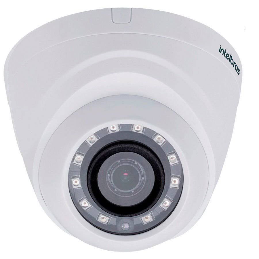 Câmera Intelbras Dome Vhd 1120D G4 2,6mm 20m 720p Multihd