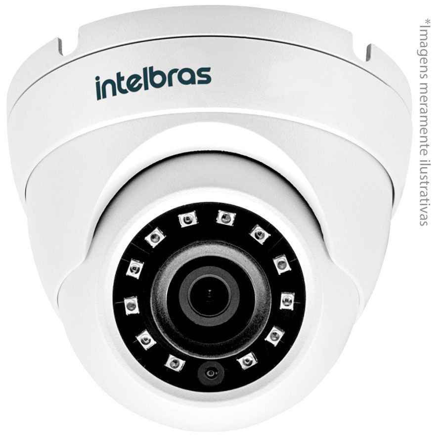 Câmera Intelbras Dome Vhd 3220D G4 2,8mm 20m 1080p Multihd