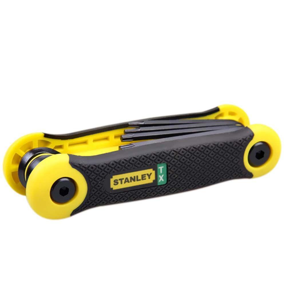 Chave Torx Jogo 8 Pro Peças De T9 A T40 (stanley 69-266) *