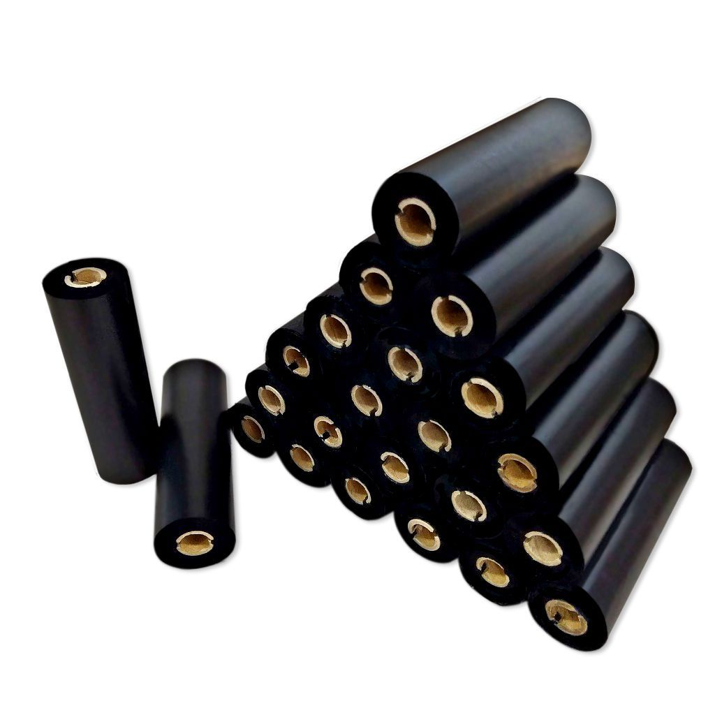 Ribbon De Cera 110*74m P/ Impressoras Zebra Argox 6 unidades