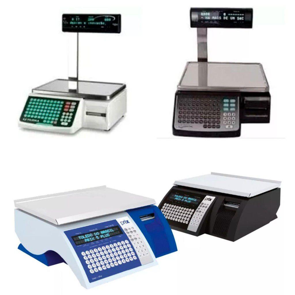 Etiqueta Térmica 60x30 Filizola para balança - 20 unidades