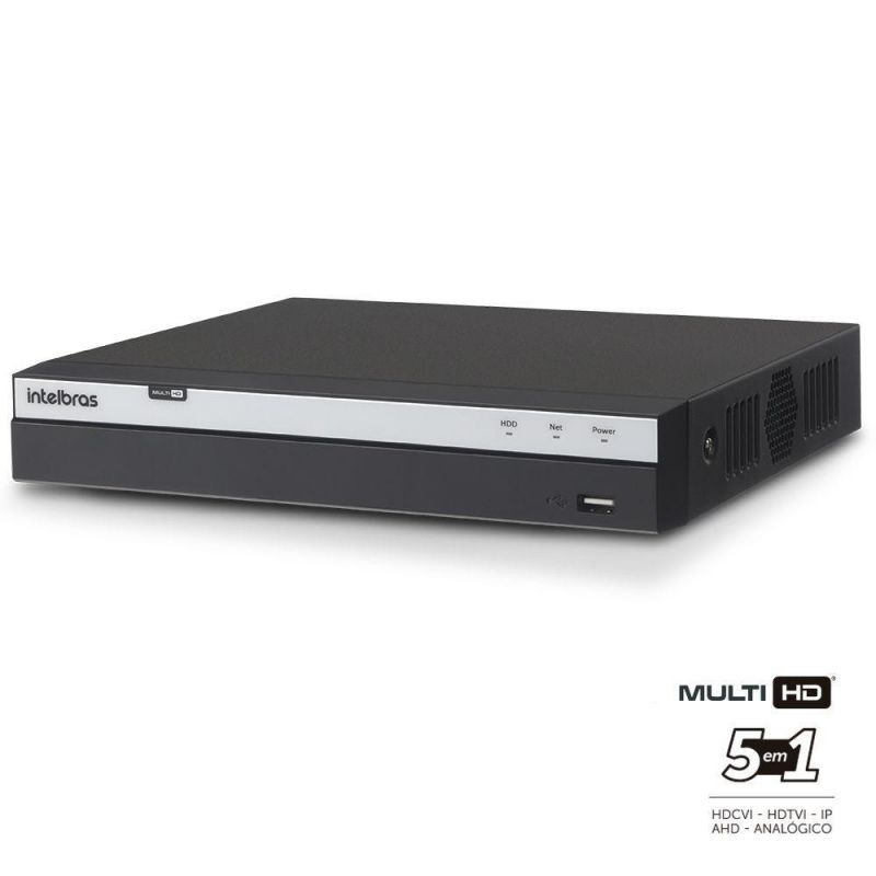 Dvr Stand Alone 4 Canais 3004 Full Hd 1080p Intelbras Multi