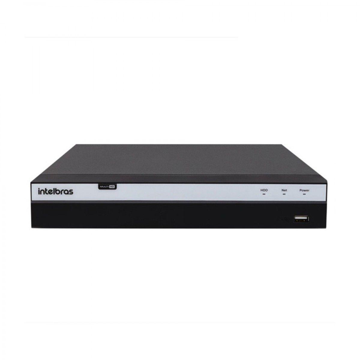 Dvr Stand Alone 4 Canais 3004 Full Hd + HD Purple 1TB 1080p Intelbras Multi