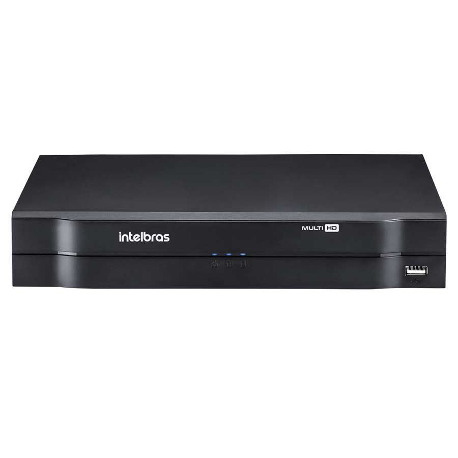 Dvr Stand Alone 8 Canais 1008 Hd + HD Purple 1TB Intelbras Multi