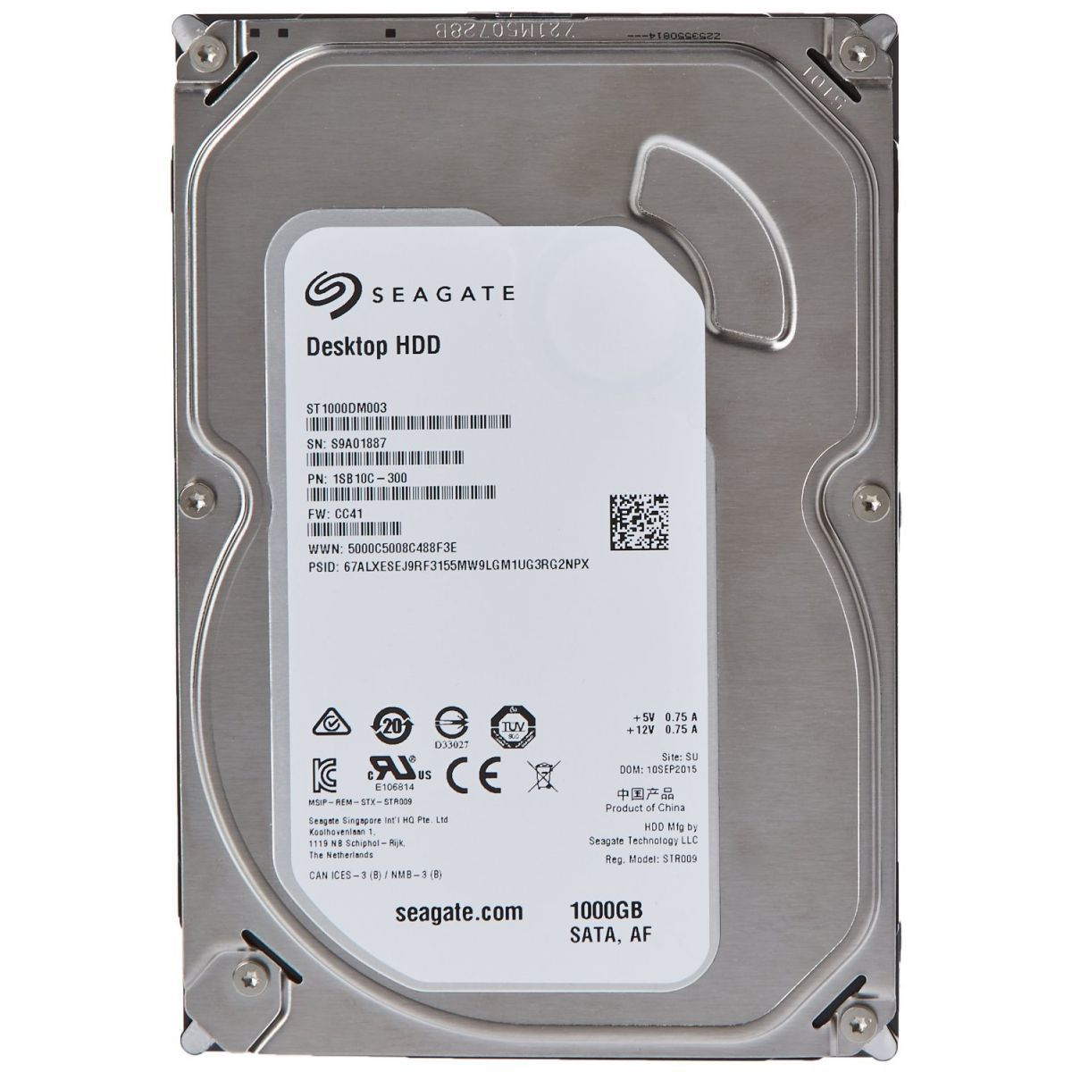 Hd Seagate Barracuda 1000gb (1tb) 7200rpm Original