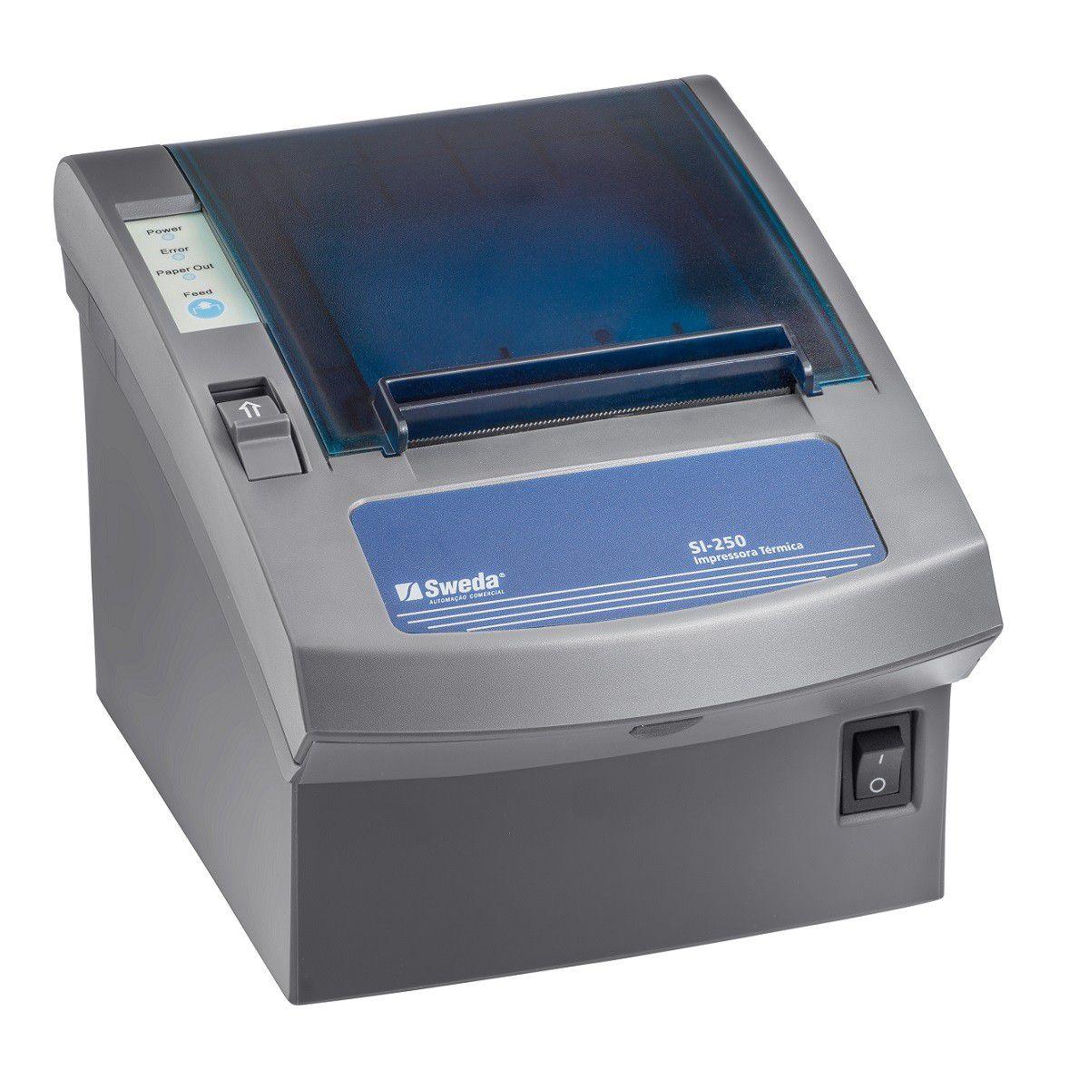 IMPRESSORA NÃO FISCAL DE CUPOM TÉRMICO SWEDA (USB/SERIAL) Si-250