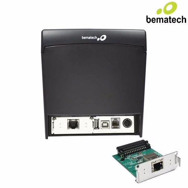 Placa DE INTERFACE Mp4200 Bematech  Ethernet Para Impressora - MP 4200