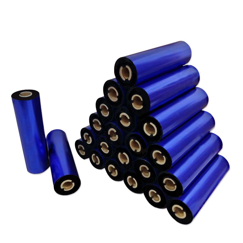 Ribbon De resina 110x74 Z400 Para Impressora Zebra Argox Elgin 24 Unidades