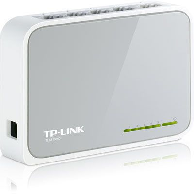 Switch 5 portas 10/100mbps TL-SF1005D Tp Link
