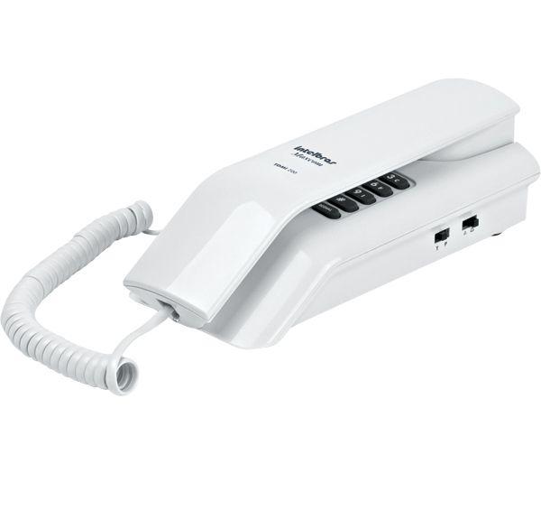 TELEFONE GÔNDOLA TERMINAL DEDICADO INTELBRAS TDMI 200 MAXCOM BRANCO