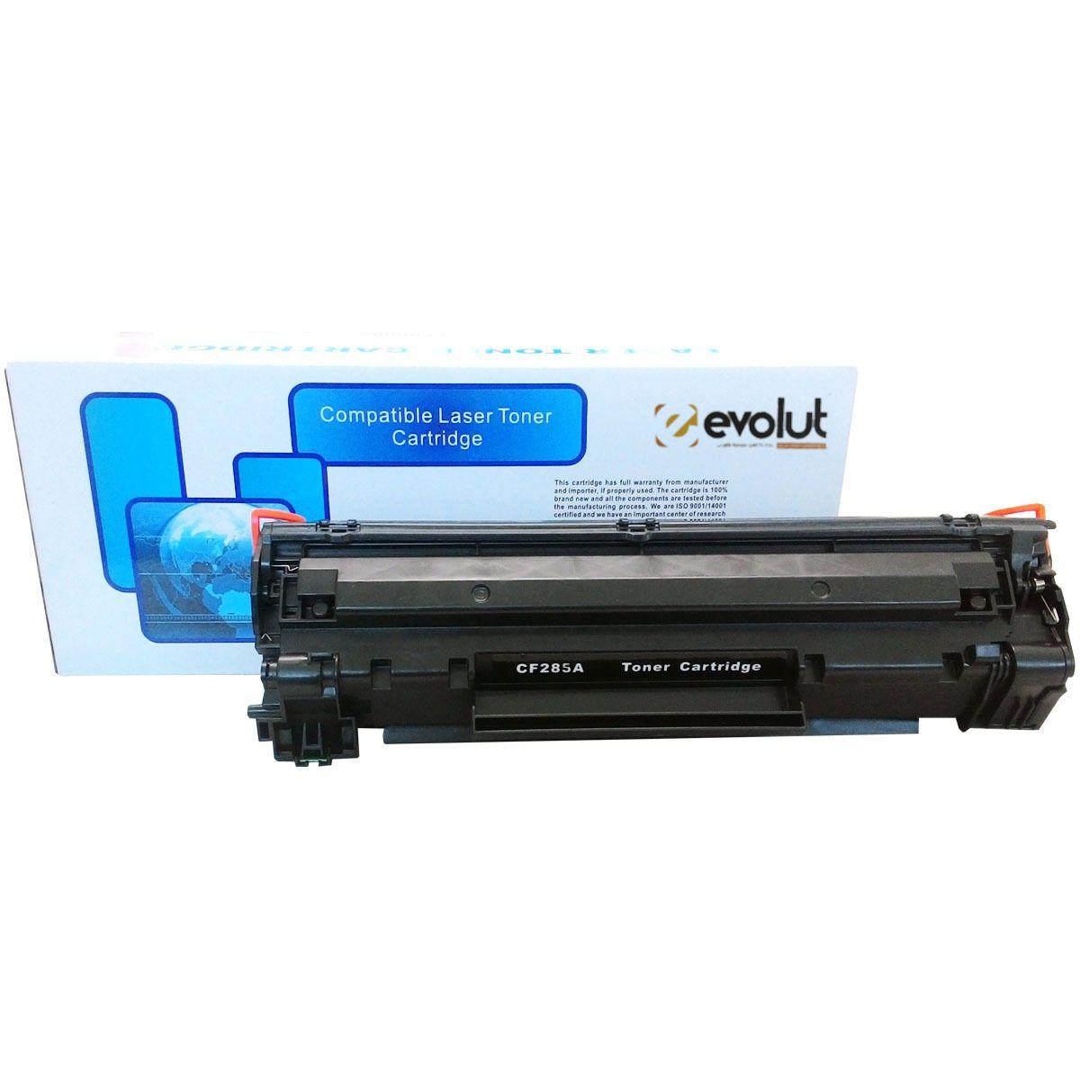 Toner compatível 85a Laserjet Preto CB435A/ CB436A/ CE285A
