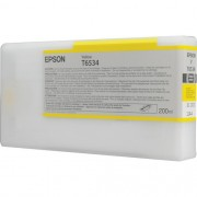T6534 - Cartucho de Tinta Epson UltraChrome HDR 200ml - Amarelo
