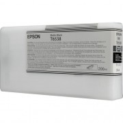 T6538 - Cartucho de Tinta Epson UltraChrome HDR 200ml - Preto Fosco