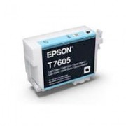 T7605 - Cartucho de Tinta Epson UltraChrome HD 25,9ml - Ciano Claro