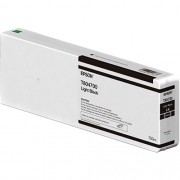 T8047 - Cartucho de Tinta Epson UltraChrome HD 700ml - Preto Claro