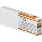 T804A - Cartucho de Tinta Epson UltraChrome HDX 700ml - Laranja