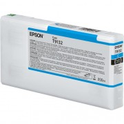 T9132 - Cartucho de Tinta Epson UltraChrome HDX 200ml - Ciano