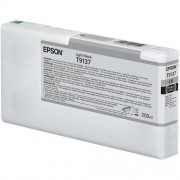T9137 - Cartucho de Tinta Epson UltraChrome HDX 200ml - Preto Claro