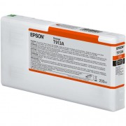 T913A - Cartucho de Tinta Epson UltraChrome HDX 200ml - Laranja