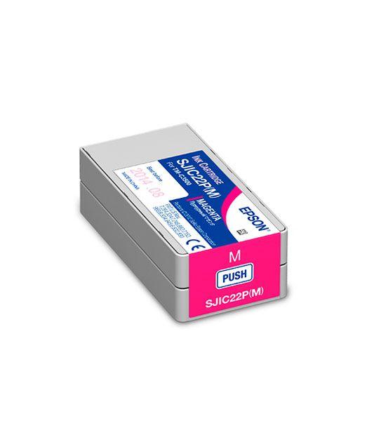 Cartucho de tinta para a impressora TM C3500 - Magenta | C33S020582