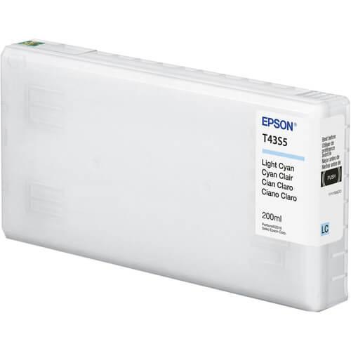T43S2 - Cartucho de Tinta Epson UltraChrome D6r-S 200 ml - Ciano