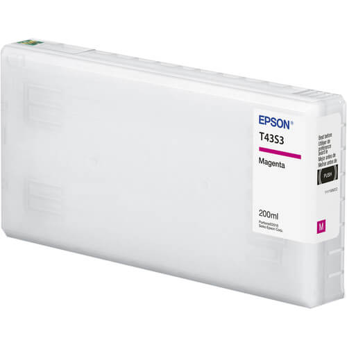 T43S3 - Cartucho de Tinta Epson UltraChrome D6r-S 200 ml - Magenta