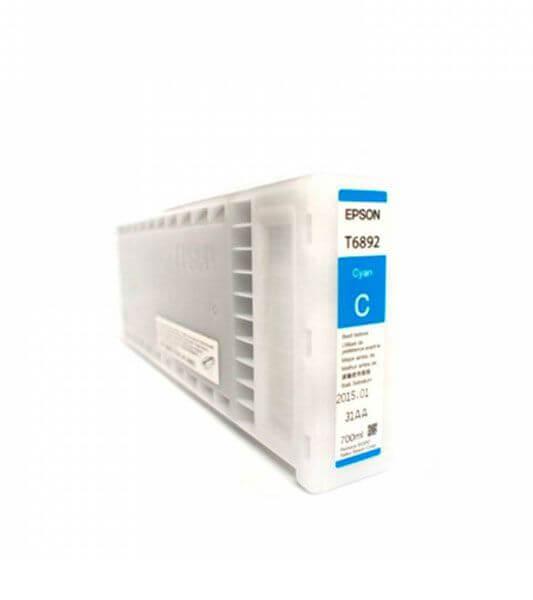 T6892 - Cartucho de Tinta Epson UltraChrome GS2 700ml - Ciano