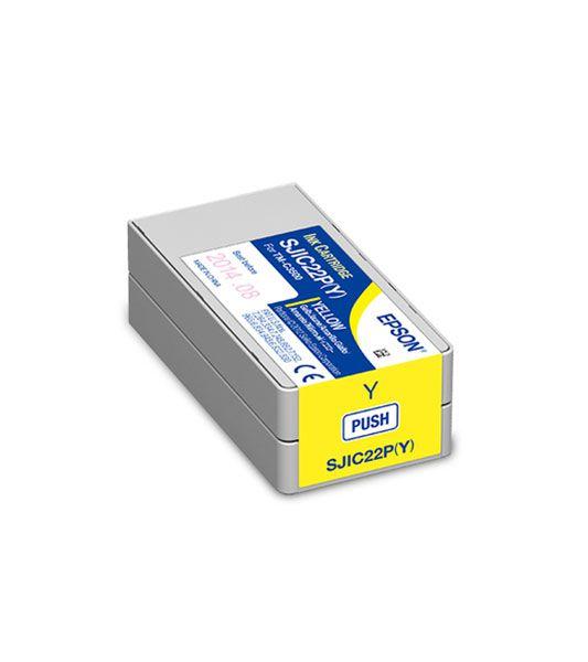 C33S020583 = Cartucho de Tinta Epson SJIC22P 32,5ml – Amarelo