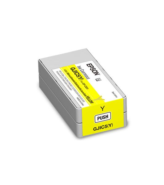 C13S020566 - Cartucho de Tinta Epson GJIC5 32,5ml - Amarelo