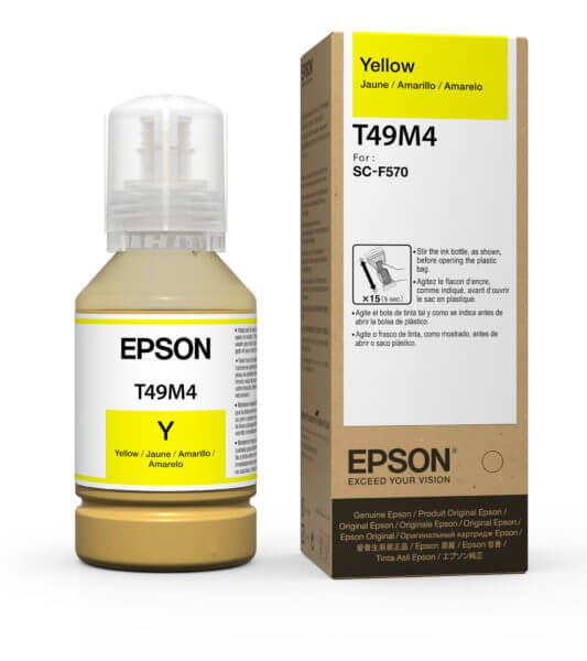 T49M4 - Tinta Sublimática Epson UltraChrome DS 140ml - Amarela