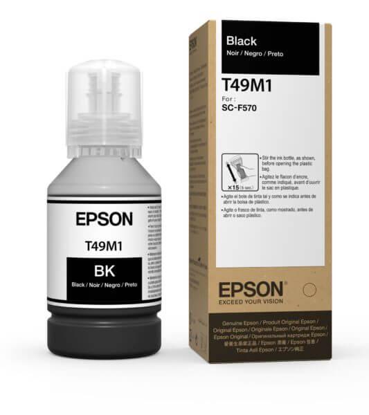 T49M120 - ULTRACHROME DS BLACK INK BOTTLE 140 ML