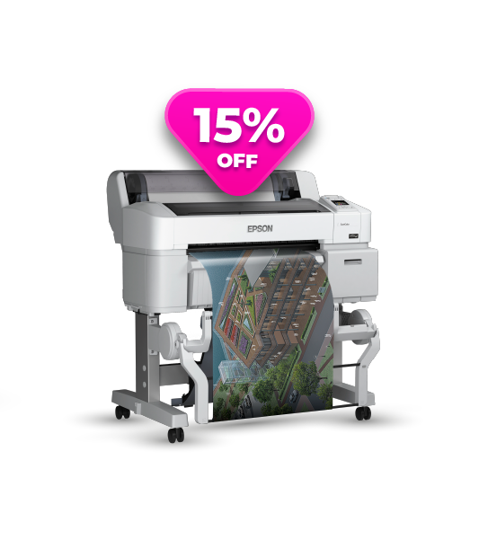 Impressora Epson® SureColor T3270SR