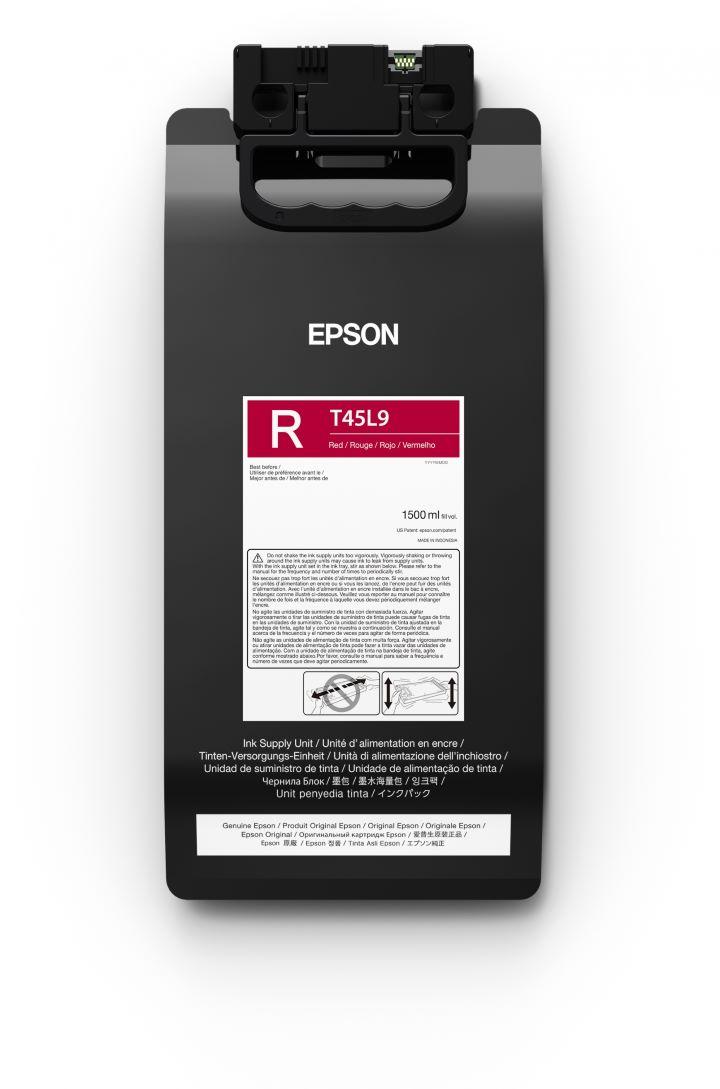 T45L9 - Bolsa de Tinta Epson UltraChrome GS3 1500ml - Vermelho