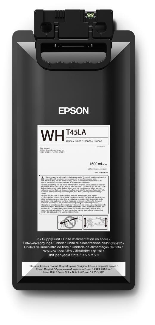 T45LA - Bolsa de Tinta Epson UltraChrome GS3 1500ml - Branco