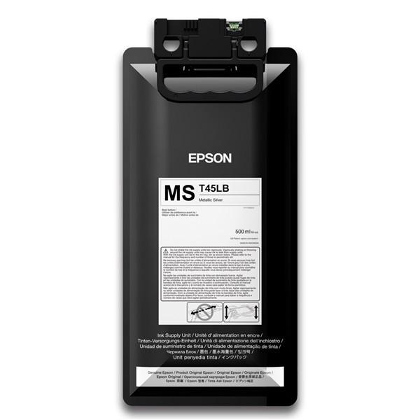 T45LB - Bolsa de Tinta Epson UltraChrome GS3 500ml - Prata Metálico