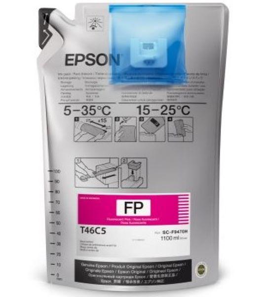 T46C5 - Tinta Sublimática Epson UltraChrome DS 1000ml - Rosa Fluorescente