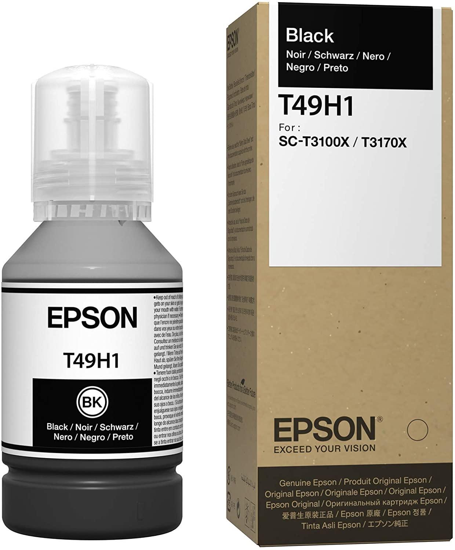 T49H1 - Tinta Epson UltraChrome XD2 140ml - Preta