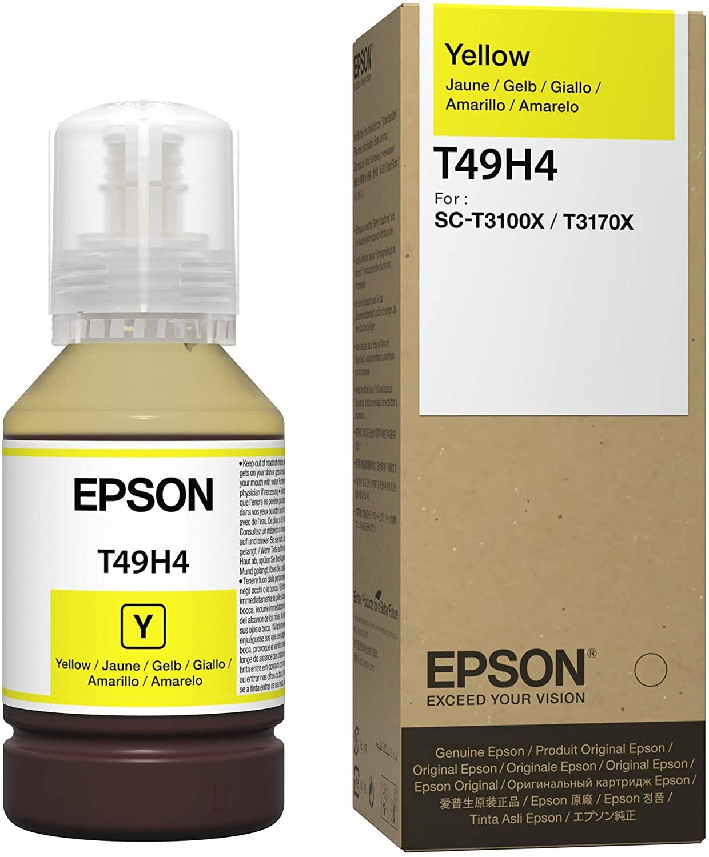 T49H4 - Tinta Epson UltraChrome XD2 140ml - Amarela