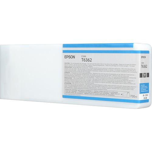 T6362 - Cartucho de Tinta Epson UltraChrome HDR 700ml - Ciano