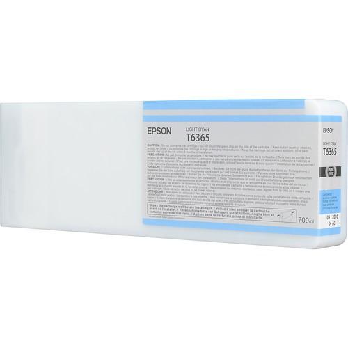 T6365 - Cartucho de Tinta Epson UltraChrome HDR 700ml - Ciano Claro