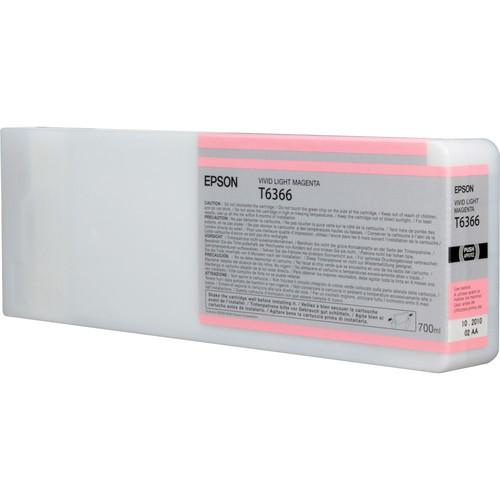 T6366 - Cartucho de Tinta Epson UltraChrome HDR 700ml - Magenta Claro Intenso