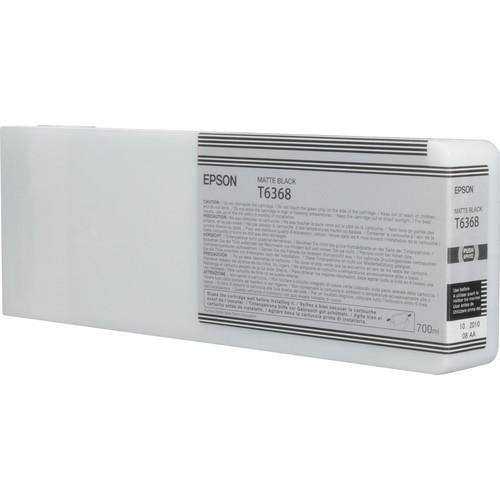 T6368 - Cartucho de Tinta Epson UltraChrome HDR 700ml - Preto Fosco