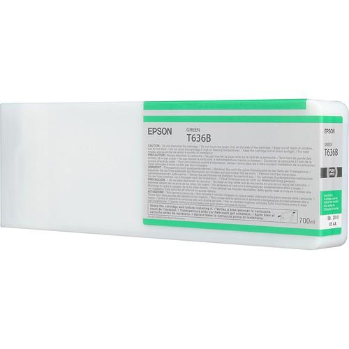 T636B - Cartucho de Tinta Epson UltraChrome HDR 700ml - Verde