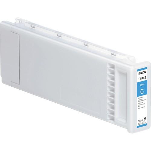 T6942 - Cartucho de Tinta Epson UltraChrome XD 700ml - Ciano